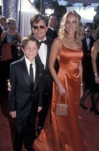 マイケル・J・フォックスのカッコいい画像!意外と低い身長!?息子のサムと4人の子供たち!超美人嫁も!