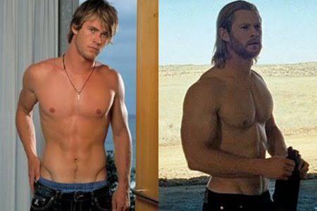 クリス・ヘムズワースの髪型セット方(画像あり)とエロい筋肉