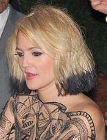 「ドリューバリモア タトゥー」の画像検索結果
